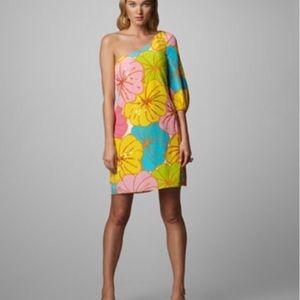 Lily Pulitzer Teresa Silk One Shoulder Dress